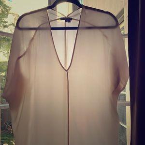Vince cream flowing blouse